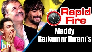 R Madhavan | Rajkumar Hirani's Interesting Rapid Fire On Ranbir Kapoor, Aamir Khan, Mani Ratnam