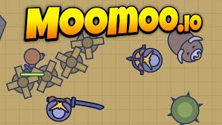 MooMoo.io - New Update! - Desert Raiding and Big Bull Attacks! - Let