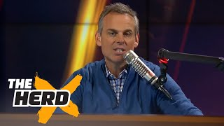 Colin Cowherd SHUTS DOWN Vikings fan  | THE HERD