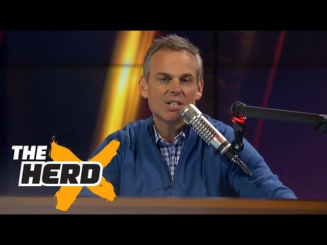 Colin Cowherd SHUTS DOWN Vikings fan  | THE HERD