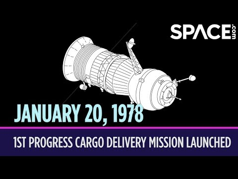 Xxx Mp4 OTD In Space – January 20 1st Progress Cargo Delivery Mission Launched 3gp Sex