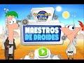 Phineas y ferb juego maestros de droides - disney xd