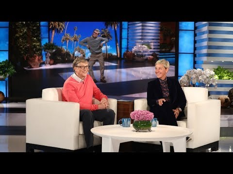 Xxx Mp4 Bill Gates Chats With Ellen For The First Time 3gp Sex