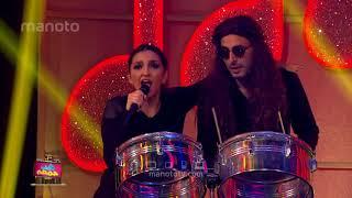 شب جمعه - فصل دوم - قسمت ۵ / اجرای لیپ سینک شیرین و میلاد با آهنگ بوم بوم بلک کتز