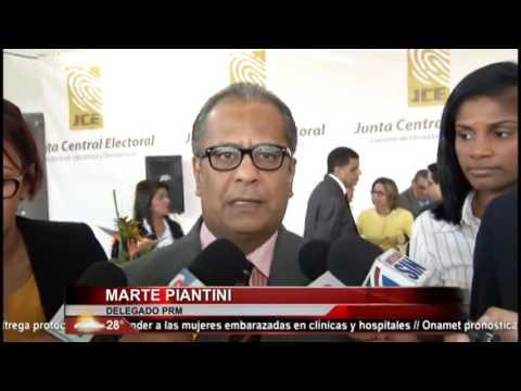 Delegados políticos reaccionan ante pedimentos oposición a JCE