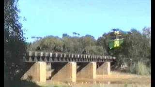 Eyre Peninsula Railways_Tripple NJ's Cummins.flv