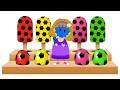 Elly Eating Yummy Soccer Balls Shapes & Ice Cream Candies   Magical Star Wand For Kids By KidsCamp