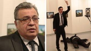 Russian Ambassador Shot by Turkey Guard ON LIVE TV