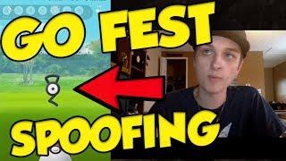 POKEMON GO FEST SPOOFING! It Can