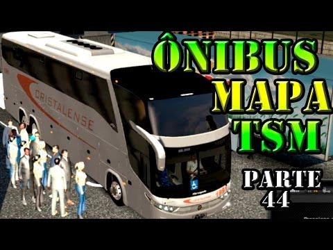 Euro Truck 2 Ônibus G7 1600 pelo mapa TSM parte 44