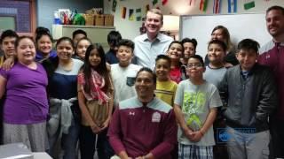 Senator Michael Bennet, Denver Students Discuss Immigration