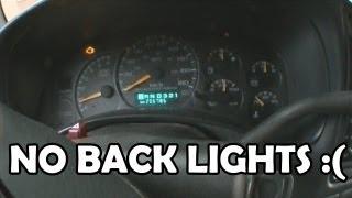 2001 GMC Sierra Instrument Cluster Wont Light Up