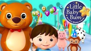 ABC Song | Alphabet Party! | Zed Version | Nursery Rhymes | Original Song By LittleBabyBum!