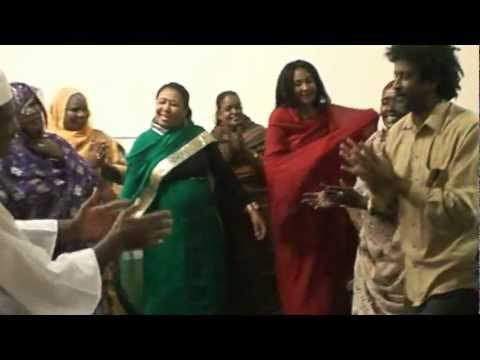 رقصة المردوم فى البيت السودانى باريزونا