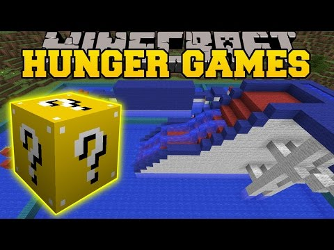 Minecraft WIPEOUT HUNGER GAMES Lucky Block Mod Modded Mini Game