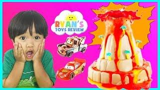 Science Experiment for Kids Wonderology Shake & Quake Volcano Baking Soda and Vinegar Disney Cars