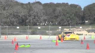 Maier Racing Mustangs at the American Autocross Series event #1 2013