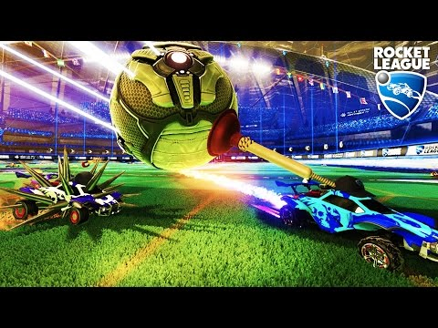 ROCKET LEAGUE w THE CREW Try Harding For Fun ROCKET LEAGUE RUMBLE