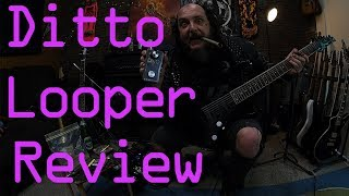SFS: TC Ditto looper review. Totally serious gear review!