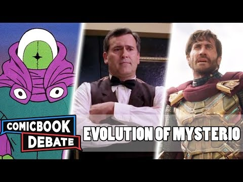 Evolution of Mysterio in Cartoons Movies & TV in 10 Minutes 2019