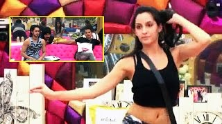 Bigg Boss 9 | Nora Fatehi Mesmerizes Rishabh & Prince With Her Belly Dance | WATCH VIDEO