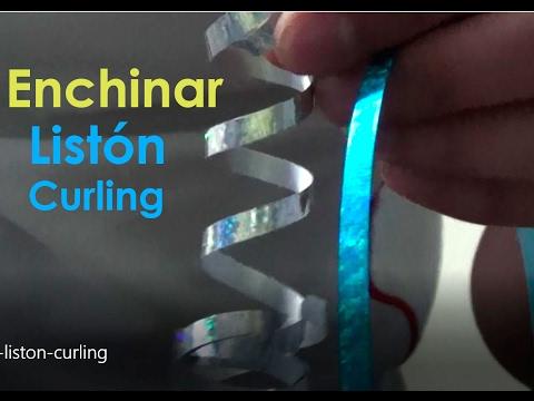 Enchinar liston curling