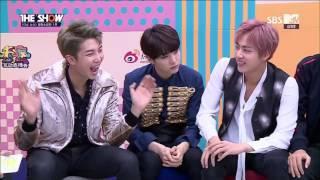 161025 The Show News BTS part 1 [ENG SUB]
