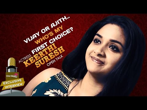 Vijay or Ajith..Who's My First Choice? Keerthi Suresh Open Talk | Exclusive Interview