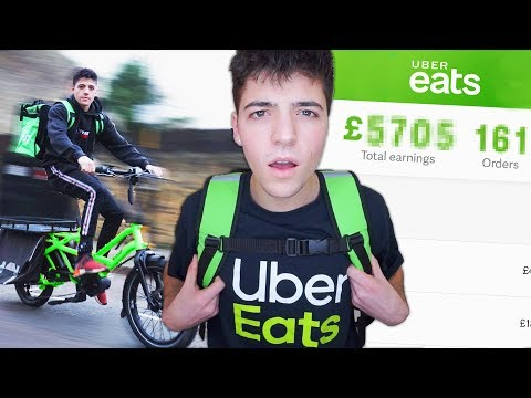 I Worked a Job At UberEats for a Week & Made £