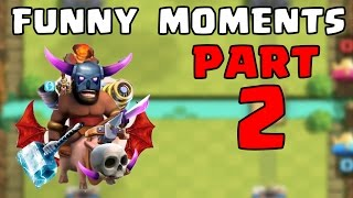 Clash Royale Most Funny Moments, Trolls, Fails, Clutches Compilation
