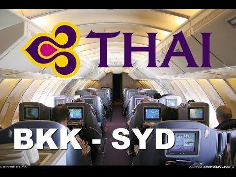 Xxx Mp4 Thai 747 Upper Deck Business Class Bangkok To Sydney 3gp Sex