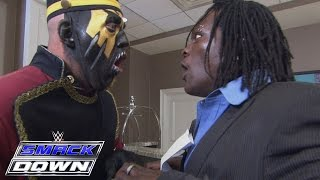 Goldust looks to help R-Truth with his bags: SmackDown, Feb. 4, 2016