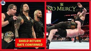 Shield Reunion at TLC | No Mercy 24/09/2017 Highlight Matches