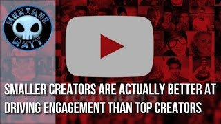 [Internet] Smaller Creators are actually better at driving engagement than Top Creators