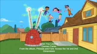Phineas and Ferb -  When You Levitate Extended Lyrics