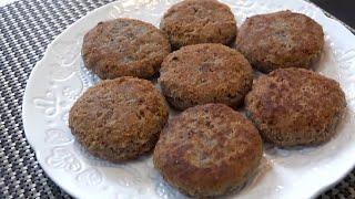كبة الحبوب والمكسرات | كبة الكيتو المقلية Seeds & Nuts Keto Kibbeh Recipe