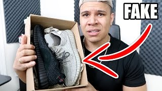 THEY SENT ME THE WRONG YEEZYS!! (DON