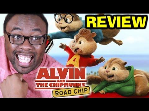 THE CHIPMUNKS ROAD CHIP REVIEW (SPOILERS) : Black Nerd