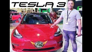 Tesla 3 Full Electric Car Review