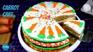 বিটার বা বাটার ছাড়াই চুলায় তৈরি গাজরের কেক | Carrot Cake Recipe | Bangladeshi Gajorer Cake