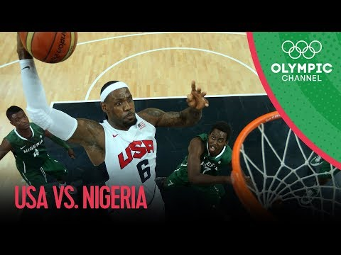 watch USA v Nigeria - USA Break Olympic Points Record - Men's Basketball Group A | London 2012 Olympics