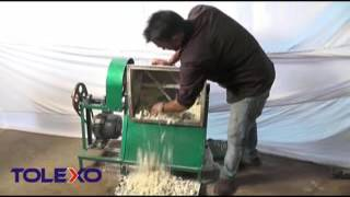 Installation / Demo Video of Noodle (Chow mein) Making Machine Semi Automatic