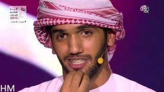 متسابق اماراتي فقد امه وابيه بكى المشاهدين مؤثر جدا