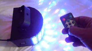 Product Review Kingso DJ Dancing Lights with Remote Control from Amazon