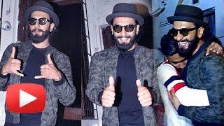 Ranveer Singh Mobbed By Fans Outside Shankar Mahadevan's Studios