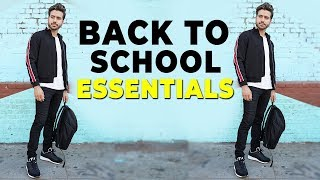 10 Back To School Essentials 2018 | Alex Costa