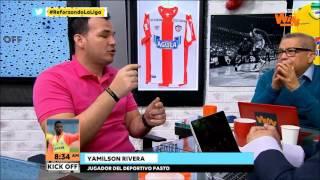 Yamilson Rivera, en Kick Off   Win Sports