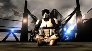 Star Wars: The Force Unleashed II - Scout Trooper Vs. Vader, Chewie, Han And Leia