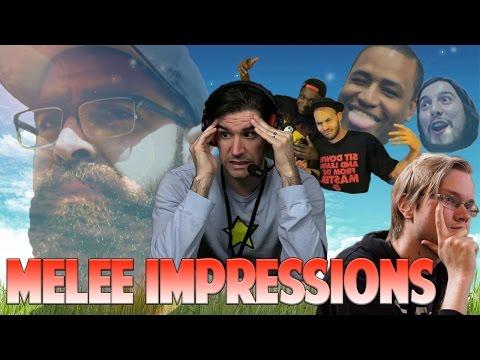 watch Melee Personalities Impersonating Melee Personalities Part 2