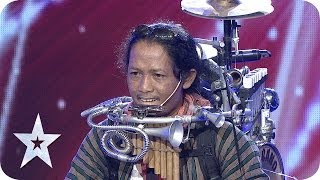 One Man Band by Yon Gondrong - AUDITION 4 - Indonesia